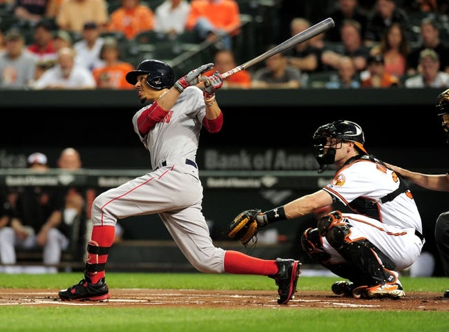 Baltimore Orioles vs. Boston Red Sox - 9/21/16 MLB Pick, Odds, and Prediction
