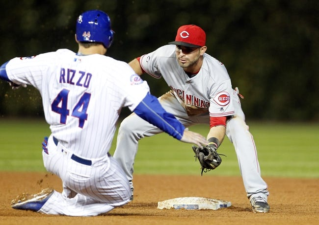 Chicago Cubs vs. Cincinnati Reds - 9/21/16 MLB Pick, Odds, and Prediction