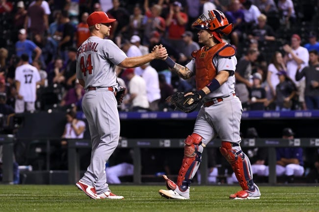 Rockies double up on Cardinals to win series