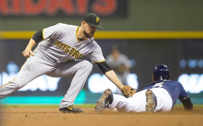 Brewers vs. Pirates - 9/22/16 MLB Pick, Odds, and Prediction