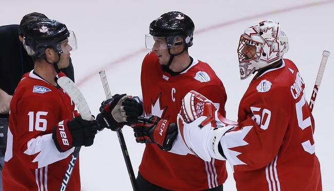 Canada vs Europe: World Cup of Hockey - 9/27/16 Pick, Odds, and Prediction