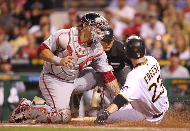 Pittsburgh Pirates vs. Washington Nationals - 9/24/16 MLB Pick, Odds, and Prediction
