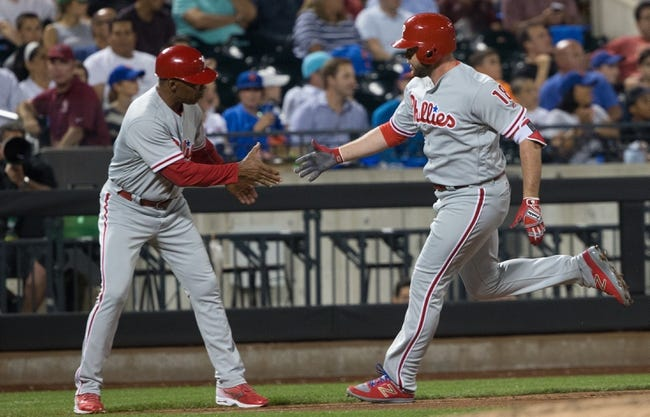 New York Mets vs. Philadelphia Phillies - 9/24/16 MLB Pick, Odds, and Prediction