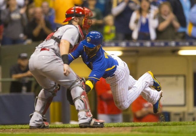Milwaukee Brewers vs. Cincinnati Reds - 9/24/16 MLB Pick, Odds, and Prediction