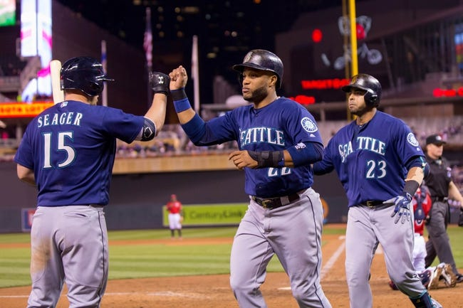Twins vs. Mariners - 9/24/16 MLB Pick, Odds, and Prediction