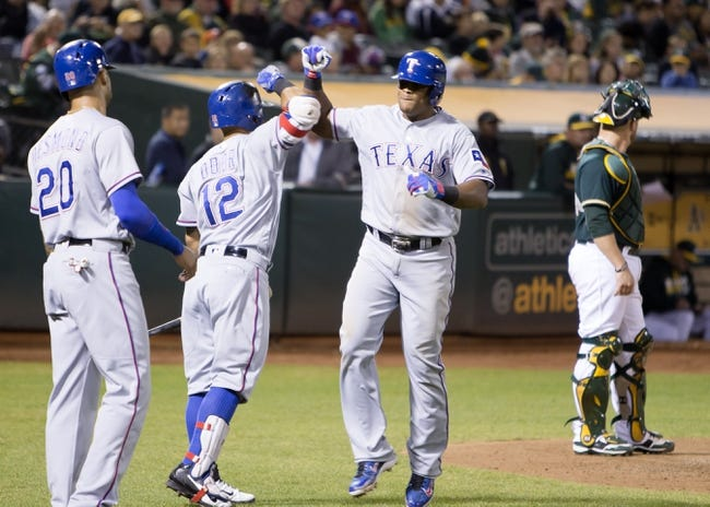 Athletics vs. Rangers - 9/24/16 MLB Pick, Odds, and Prediction