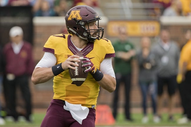 Iowa Hawkeyes at Minnesota Golden Gophers - 10/8/16 College Football Pick, Odds, and Prediction