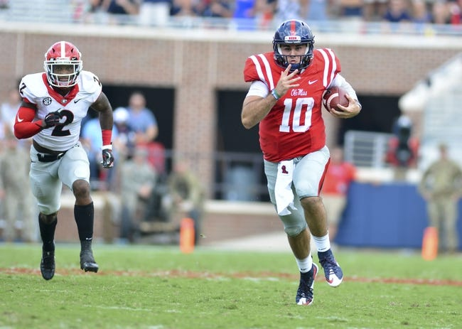 Memphis Tigers at Ole Miss Rebels - 10/1/16 College Football Pick, Odds, and Prediction
