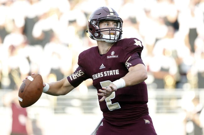 Texas State vs. Incarnate Word - 10/1/16 College Football Pick, Odds, and Prediction