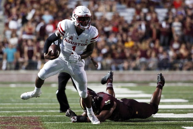 Houston vs. UCONN - 9/29/16 College Football Pick, Odds, and Prediction