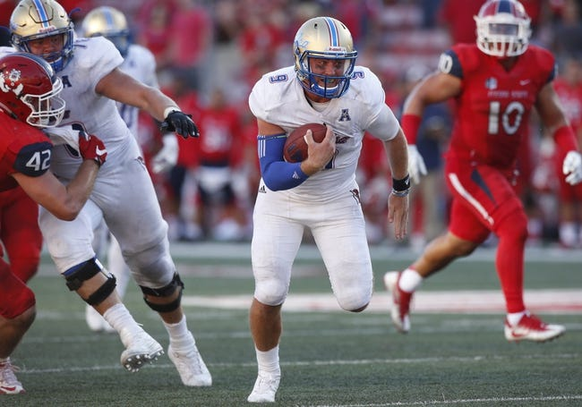 SMU Mustangs at Tulsa Golden Hurricane - 10/7/16 College Football Pick, Odds, and Prediction