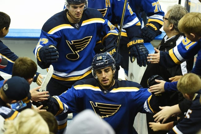 St. Louis Blues vs. Columbus Blue Jackets - 11/5/16 NHL Pick, Odds, and Prediction