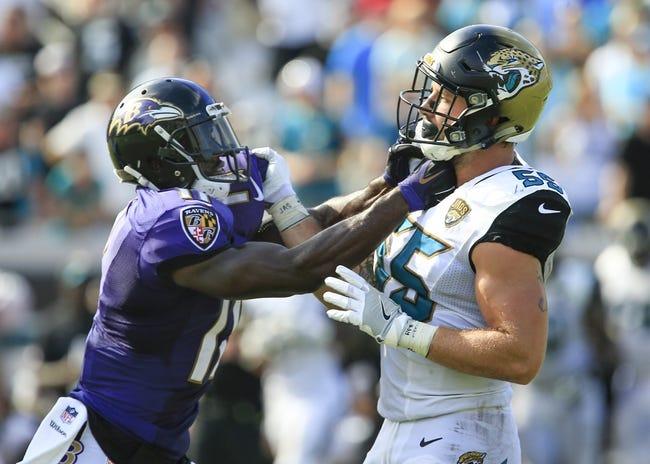Baltimore Ravens at Jacksonville Jaguars - 9/24/17 NFL Pick, Odds, and Prediction