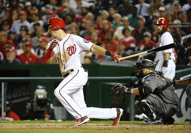 Washington Nationals vs. Arizona Diamondbacks - 9/27/16 MLB Pick, Odds, and Prediction