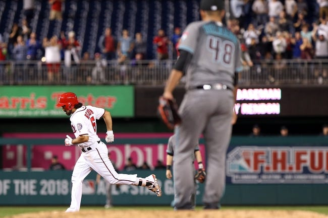 Washington Nationals vs. Arizona Diamondbacks - 9/28/16 MLB Pick, Odds, and Prediction