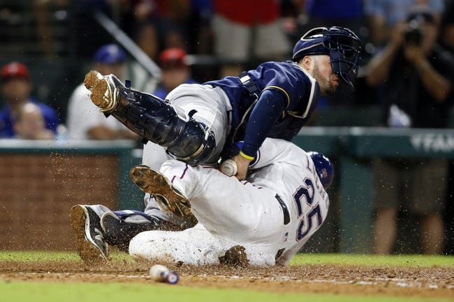 Rangers vs. Brewers - 9/28/16 MLB Pick, Odds, and Prediction