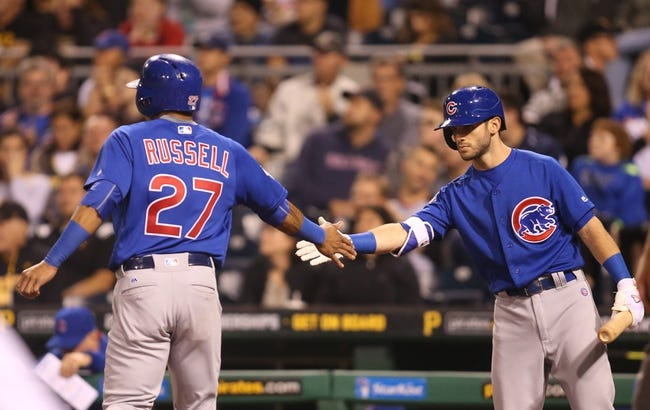 Pittsburgh Pirates vs. Chicago Cubs - 9/29/16 MLB Pick, Odds, and Prediction