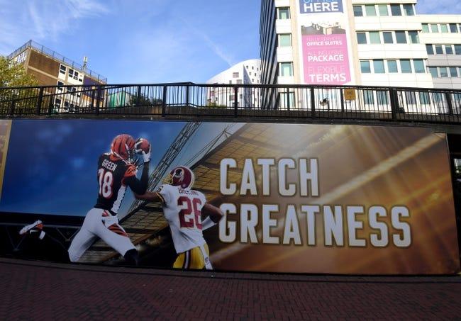 Cincinnati Bengals vs. Washington Redskins - 10/30/16 NFL Pick, Odds, and Prediction