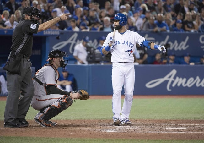 Baltimore Orioles at Toronto Blue Jays AL Wild Card - 10/4/16 MLB Pick, Odds, and Prediction
