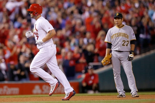 St. Louis Cardinals vs. Pittsburgh Pirates - 10/1/16 MLB Pick, Odds, and Prediction