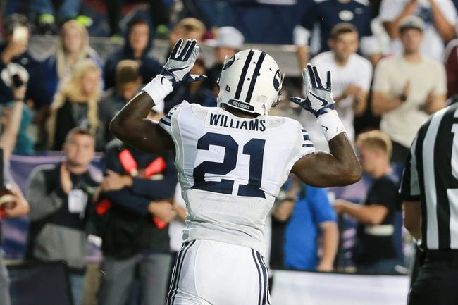 BYU Cougars at Michigan State Spartans - 10/8/16 College Football Pick, Odds, and Prediction