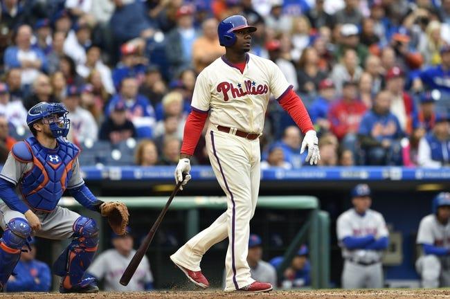 Philadelphia Phillies vs. New York Mets - 10/2/16 MLB Pick, Odds, and Prediction