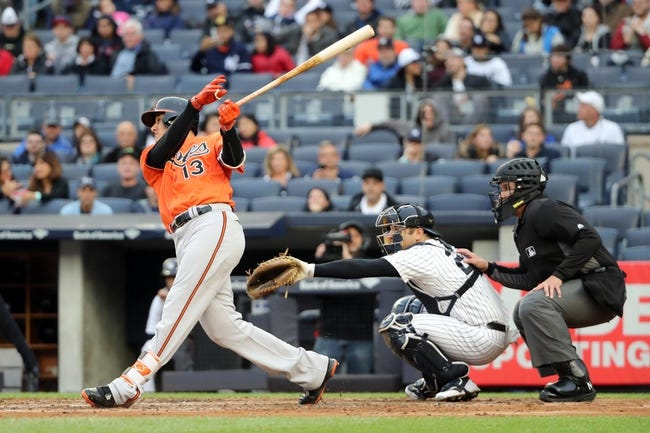 New York Yankees vs. Baltimore Orioles - 10/2/16 MLB Pick, Odds, and Prediction