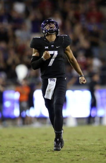 TCU Horned Frogs at Kansas Jayhawks - 10/8/16 College Football Pick, Odds, and Prediction