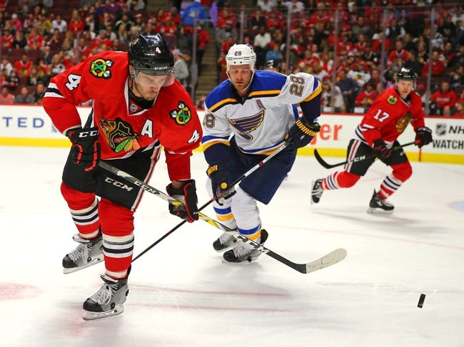 Chicago Blackhawks vs. St. Louis Blues - 10/12/16 NHL Pick, Odds, and Prediction