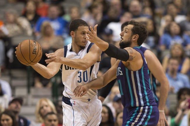 Charlotte Hornets vs. Dallas Mavericks - 12/1/16 NBA Pick, Odds, and Prediction