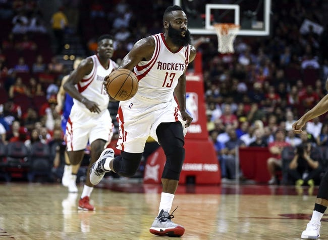 New Orleans Pelicans vs. Houston Rockets - 10/9/16 NBA Preseason Pick, Odds, and Prediction