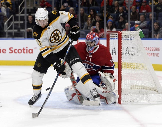 Boston Bruins vs. Montreal Canadiens - 10/22/16 NHL Pick, Odds, and Prediction