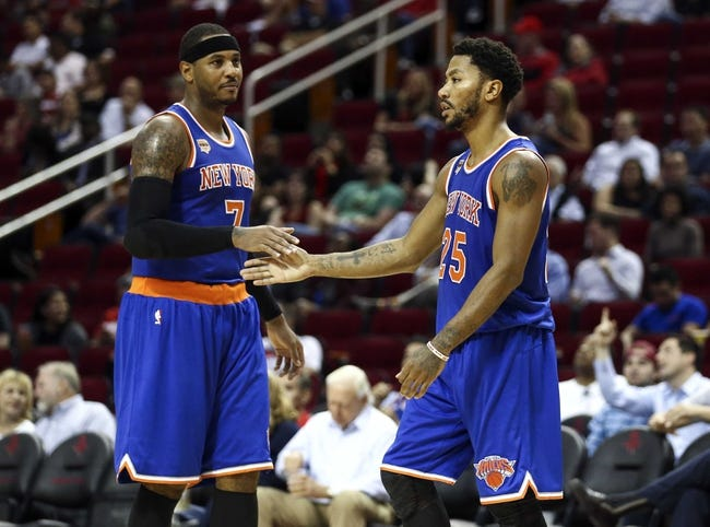 Washington Wizards vs. New York Knicks - 10/10/16 NBA Preseason Pick, Odds, and Prediction