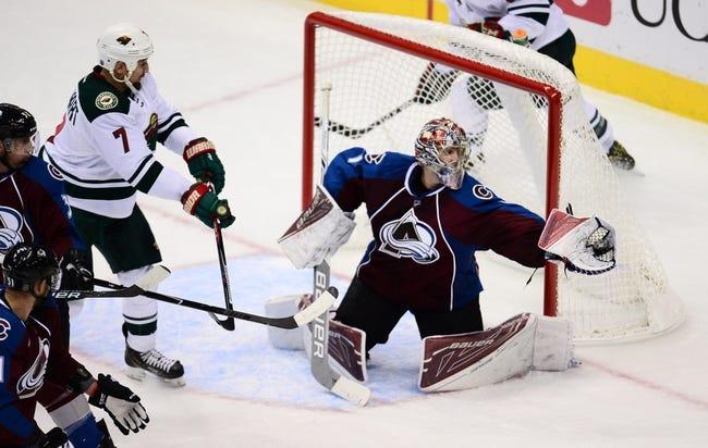 Colorado Avalanche vs. Minnesota Wild - 11/5/16 NHL Pick, Odds, and Prediction