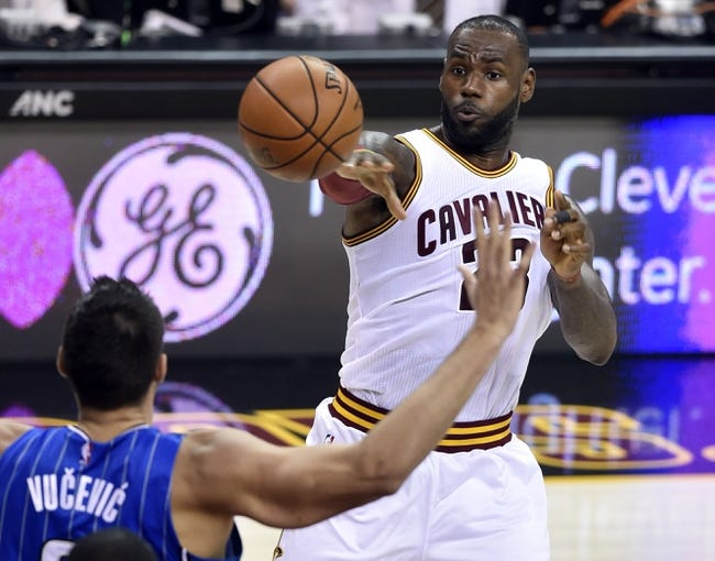 Cleveland Cavaliers vs. Orlando Magic - 10/29/16 NBA Pick, Odds, and Prediction