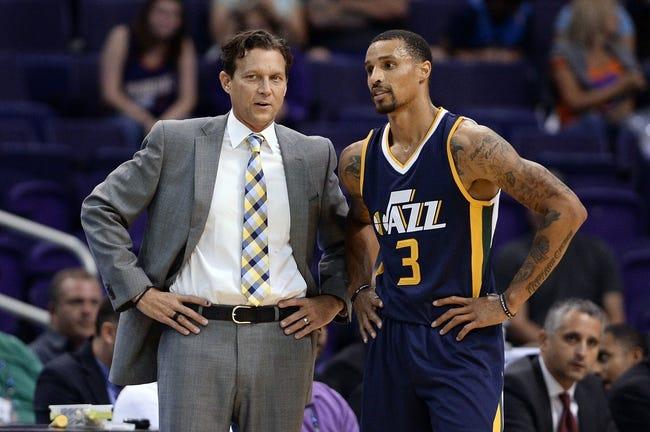 Phoenix Suns vs. Utah Jazz - 10/12/16 NBA Preseason Pick, Odds, and Prediction