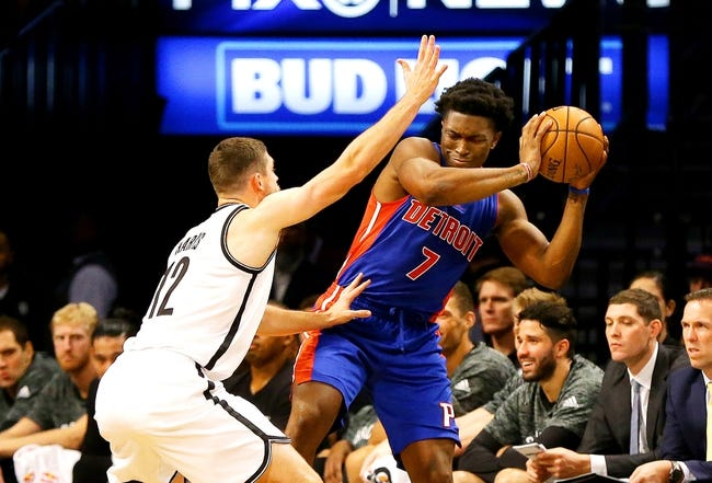 Brooklyn Nets vs. Detroit Pistons - 11/2/16 NBA Pick, Odds, and Prediction