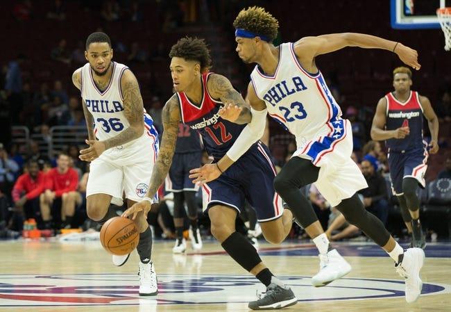Philadelphia 76ers vs. Washington Wizards - 11/16/16 NBA Pick, Odds, and Prediction