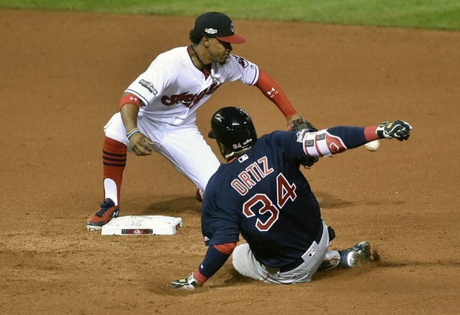 Cleveland Indians vs. Boston Red Sox ALDS Game 2- 10/7/16 MLB Pick, Odds, and Prediction