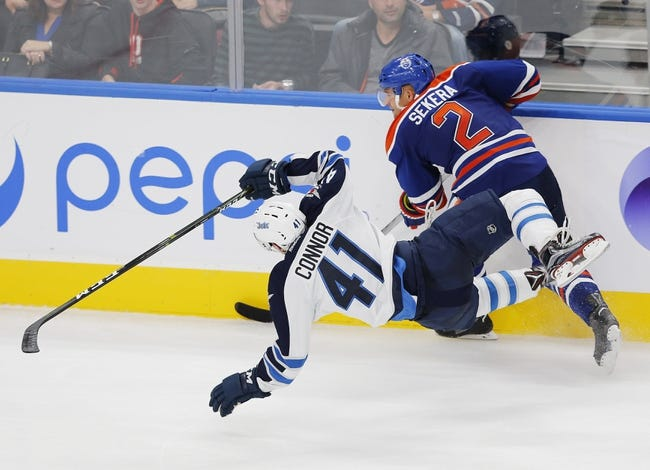 Winnipeg Jets vs. Edmonton Oilers - 10/23/16 NHL Pick, Odds, and Prediction