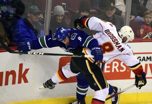 Vancouver Canucks vs. Calgary Flames - 10/15/16 NHL Pick, Odds, and Prediction