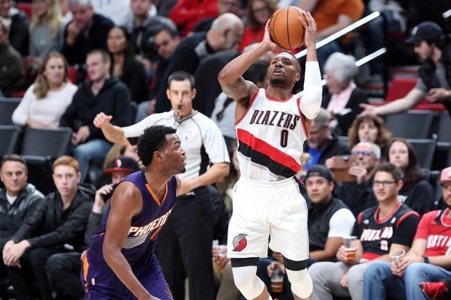 Phoenix Suns vs. Portland Trail Blazers - 11/2/16 NBA Pick, Odds, and Prediction