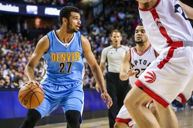 Toronto Raptors vs. Denver Nuggets - 10/31/16 NBA Pick, Odds, and Prediction