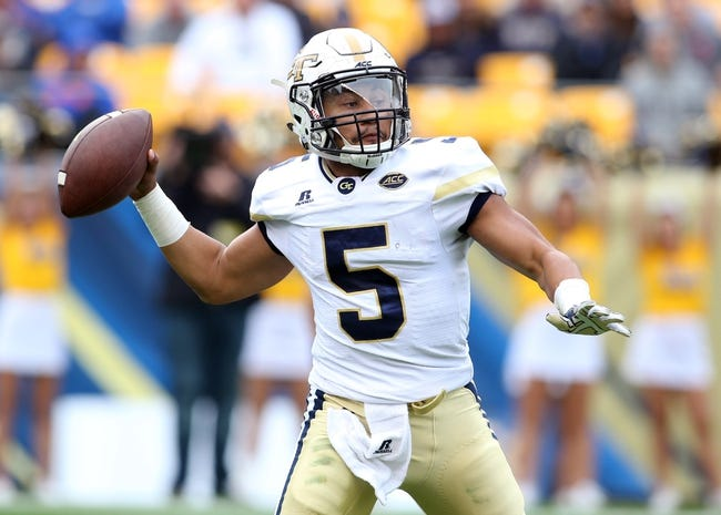 Georgia Tech Yellow Jackets vs. Georgia Southern Eagles - 10/15/16 College Football Pick, Odds, and Prediction