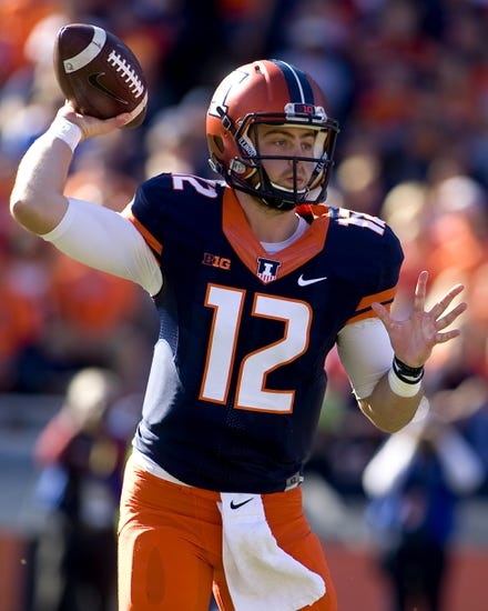 Illinois Fighting Illini at Rutgers Scarlet Knights - 10/15/16 College Football Pick, Odds, and Prediction