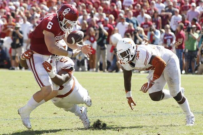 Oklahoma vs. Texas - 10/14/17 College Football Pick, Odds, and Prediction