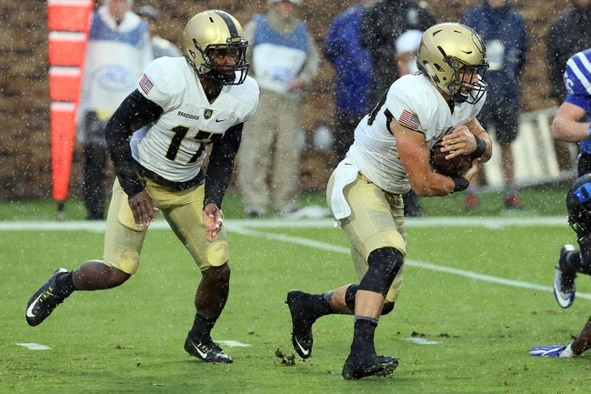 Army Black Knights vs. North Texas Mean Green - 10/22/16 College Football Pick, Odds, and Prediction