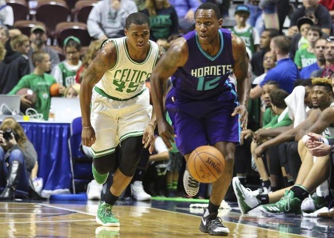 Charlotte Hornets vs. Boston Celtics - 10/29/16 NBA Pick, Odds, and Prediction