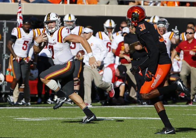 Iowa State Cyclones at Texas Longhorns - 10/15/16 College Football Pick, Odds, and Prediction