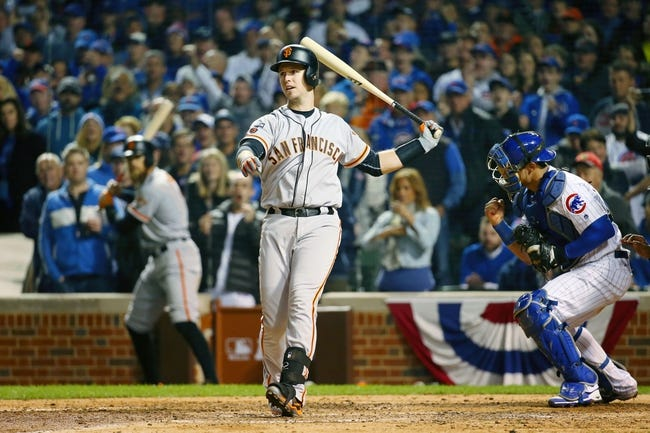 Chicago Cubs at San Francisco Giants NLDS Game Three - 10/10/16 MLB Pick, Odds, and Prediction